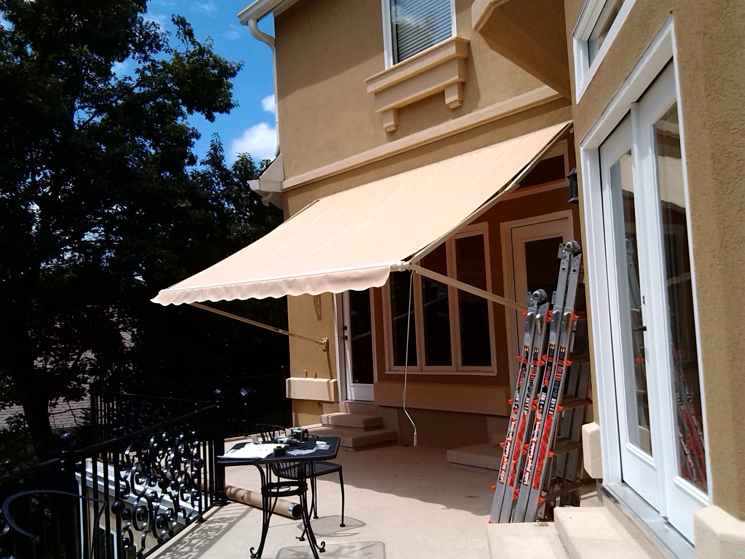 1000xt Amp 900xt Sunsetter Awnings By Lanier Aluminum Products